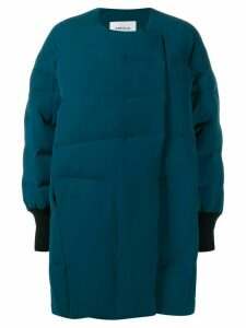 Enföld oversized panelled padded coat - Blue