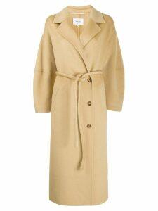 Nanushka Loane belted coat - Neutrals