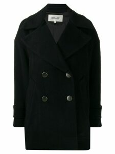Diane von Furstenberg Olivera double breasted coat - Black