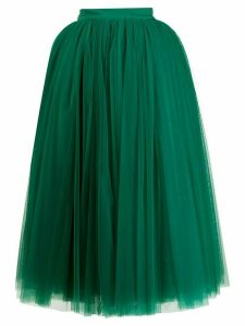 Dolce & Gabbana circle tulle skirt - Green