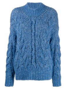 IRO Situla cable knit jumper - Blue