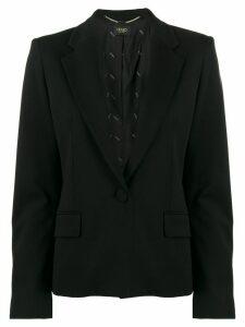 LIU JO single-breasted blazer - Black