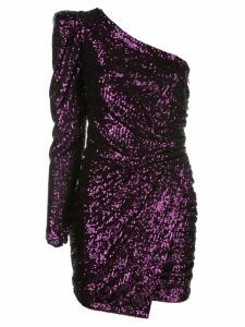 Iorane asymmetric sequinned dress - Purple