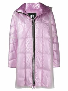 Ienki Ienki pyramid double-layered raincoat - Pink
