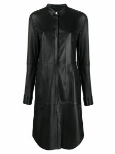 Arma midi shirt dress - Black