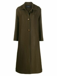 Antonelli single breasted formal coat - Green