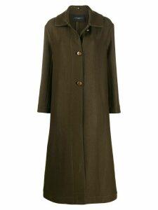Antonelli single breasted formal coat - Green