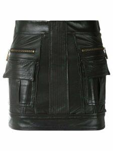Andrea Bogosian short straight skirt - Black