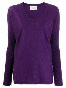 Snobby Sheep Sophia loose-fit jumper - Purple