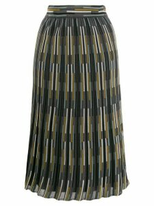 M Missoni intarsia knit skirt - Grey