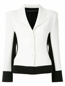 Gloria Coelho bicolor slim fit blazer - Multicolour