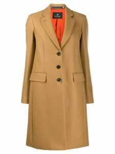 PS Paul Smith button-up coat - Neutrals