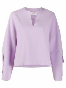 Áeron Nita oversized sweatshirt - Purple