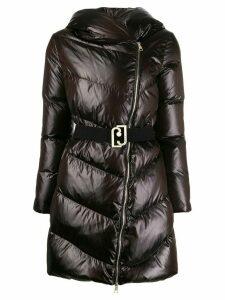 LIU JO hooded padded coat - Black
