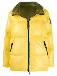 Peuterey Warning padded coat - Yellow