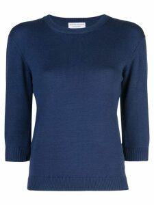 Alexandra Golovanoff fitted sweater - Blue