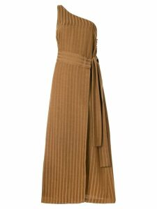 Muller Of Yoshiokubo one-shoulder dress - Brown
