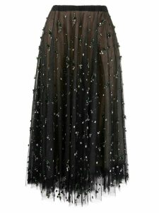 Rochas layered skirt - Black