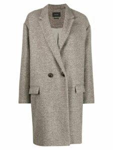 Isabel Marant Étoile Filipo cocoon coat - Neutrals