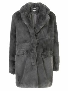 Apparis Sophie faux fur coat - Grey