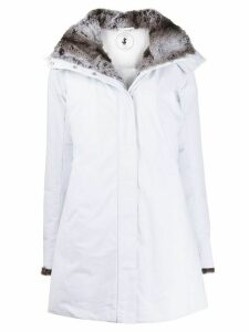 Save The Duck SMEG9 faux fur-lined coat - White