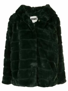 Apparis Goldie faux-fur coat - Green