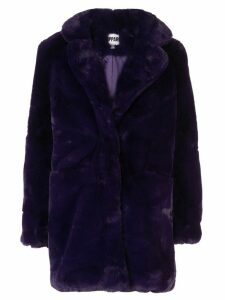 Apparis Sophie faux fur coat - PURPLE