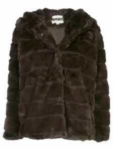 Apparis Goldie faux-fur coat - Brown