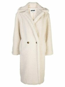 Apparis Daryna faux-shearling coat - White