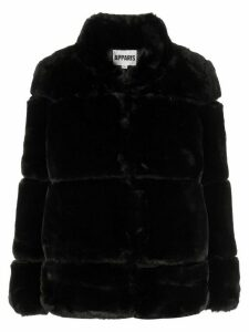 Apparis Sarah faux fur coat - Black