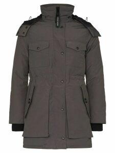 Canada Goose Gabriola hooded parka coat - Grey