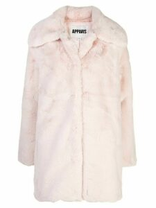 Apparis Alix faux-fur coat - Pink