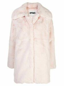Apparis Alix faux-fur coat - PINK