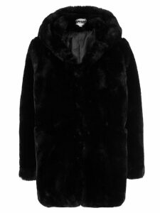 Apparis Sophie faux fur coat - Black