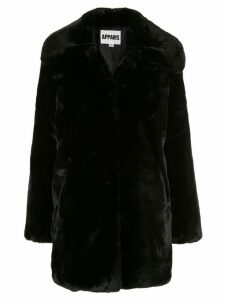 Apparis Alix faux-fur coat - Black