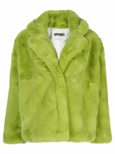 Apparis Manon short faux-fur coat - Green