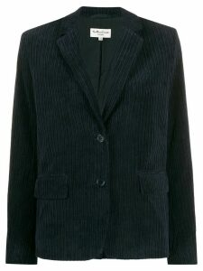 YMC ribbed single-breasted blazer - Blue