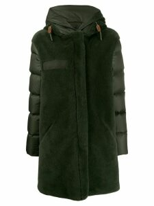 Mr & Mrs Italy textured padded coat - Green