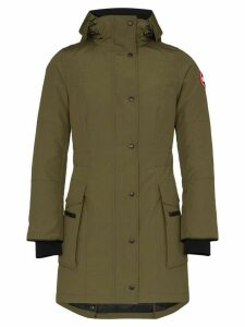 Canada Goose Kinley hooded parka coat - Green