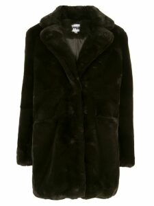 Apparis Sophie faux fur coat - Green
