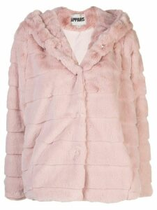 Apparis Goldie short faux-fur coat - PINK