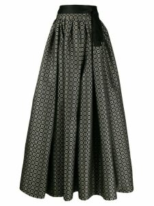 Etro patterned full skirt - Grey
