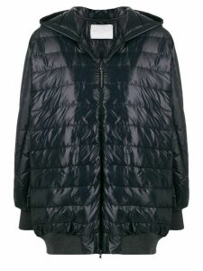 Fabiana Filippi hooded padded coat - Blue
