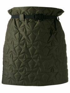 8pm star quilted high-rise skirt - Green