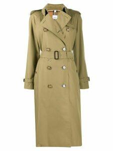 Burberry Waterloo trench coat - Green