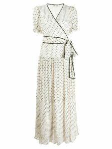 Diane von Furstenberg Breeze wrap dress - White