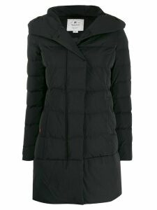 Woolrich hooded padded parka - Black