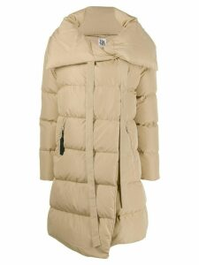 Bacon Bacon big puffa coat - NEUTRALS