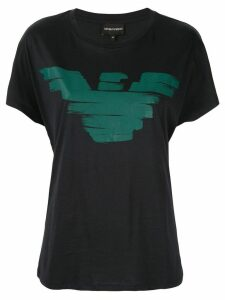 Emporio Armani Eagle logo T-shirt - Blue