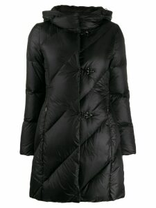 Fay hooded down coat - Black